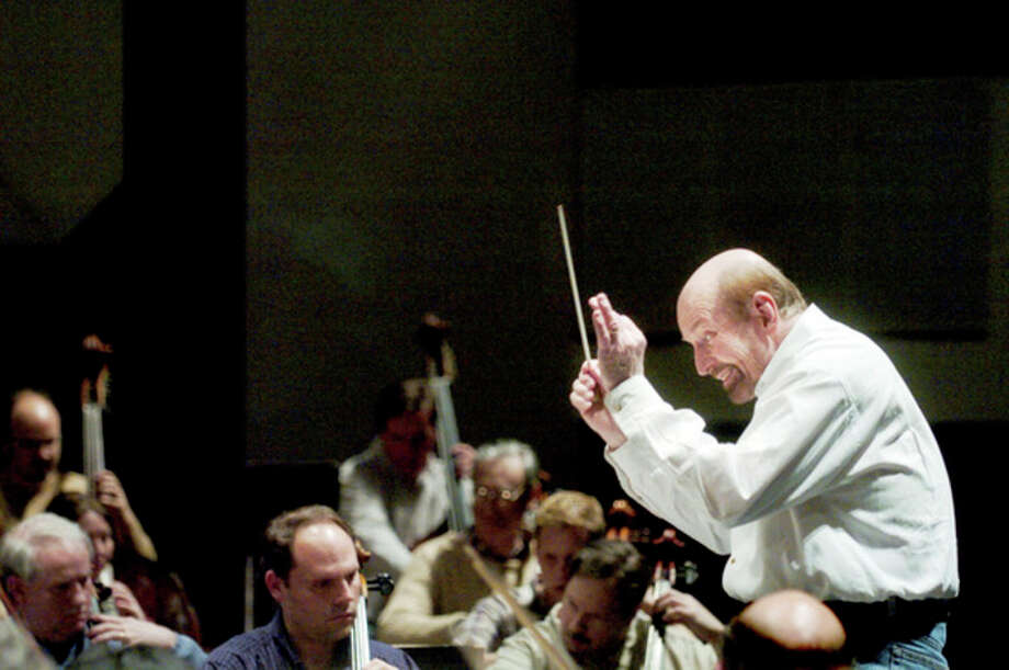Daily News file photo  Conductor Carlton Woods leads the Midland Symphony Orchestra during a rehearsal in 2007.