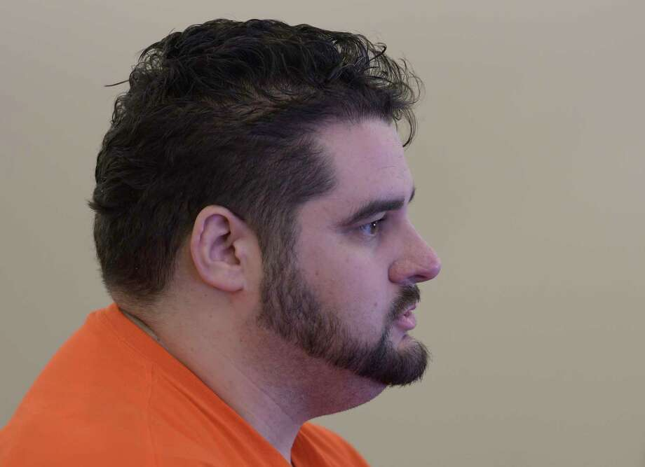 "Edward ""Ted"" Mero appears in Albany County Court for his arraignment on two counts of murder 2nd degree Monday Feb. 27, 2017 at the Albany Judicial Center in Albany, N.Y.  (Skip Dickstein/Times Union) Photo: SKIP DICKSTEIN / 20039815A"