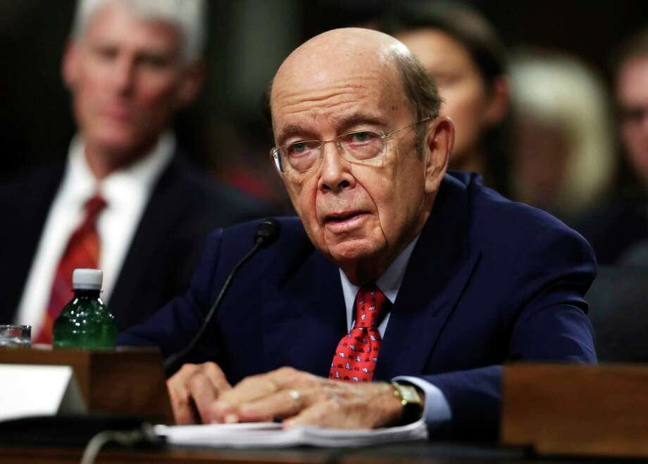 Wilbur Ross testifies on Capitol Hill last month during his confirmation hearing before the Senate Commerce Committee. Photo: Manuel Balce Ceneta, STF / Copyright 2017 The Associated Press. All rights reserved.