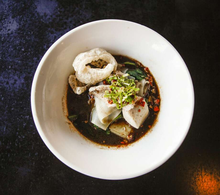 Boat noodles at Zen Yai in San Francisco. Photo: Jonathan Kauffman, The Chronicle