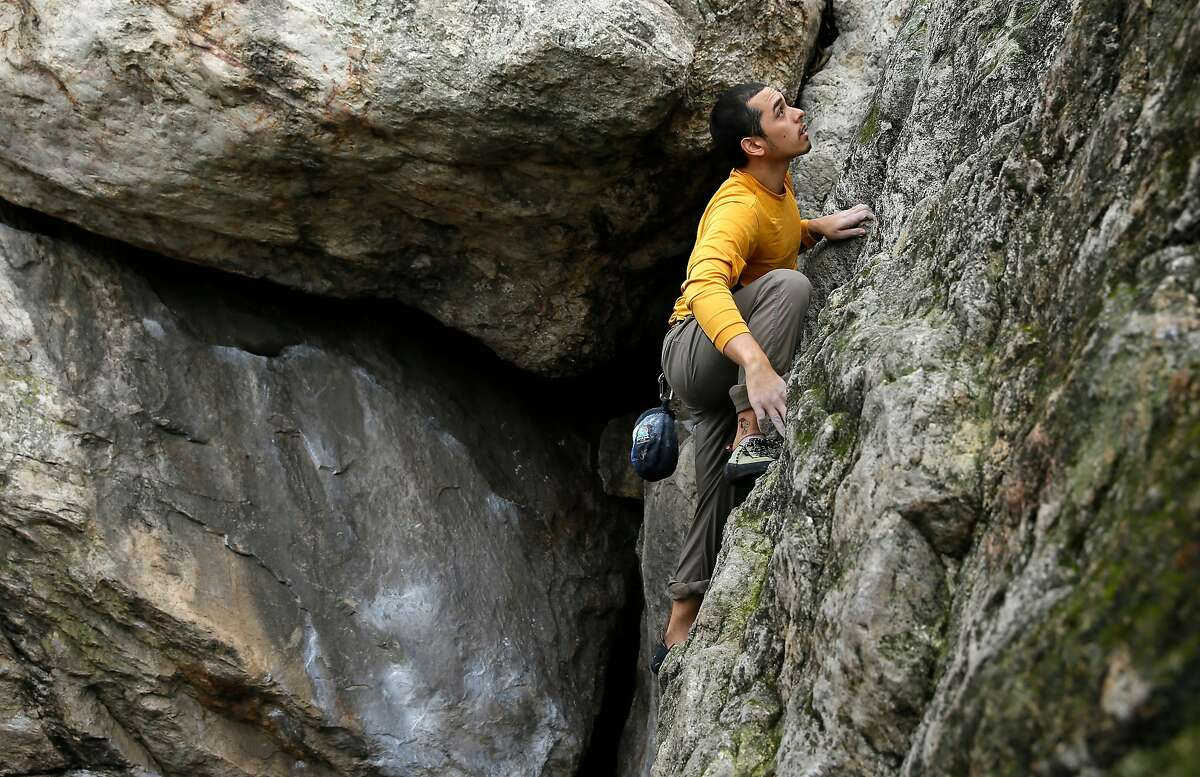 ROCK CLIMBING The Bay Area is full of great spots to begin rock climbing or bouldering outdoors. This guide has many locations, including Indian Rock in North Berkeley. Climbers regularly show up here to tackle routes that range from beginner to advanced.