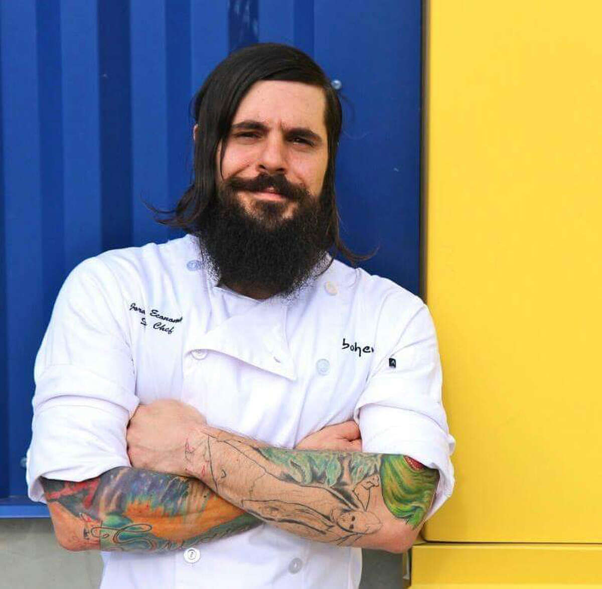 Jordan Economy is the new chef at the Oyster Bar at Prohibition.