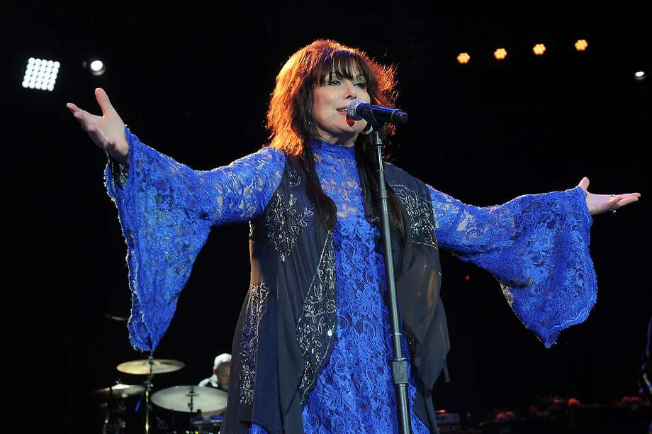 Ann Wilson performing with Heart last year. Currently on a solo tour, Wilson comes to Berkeley Friday. Photo: Dave Rossman, For The Chronicle