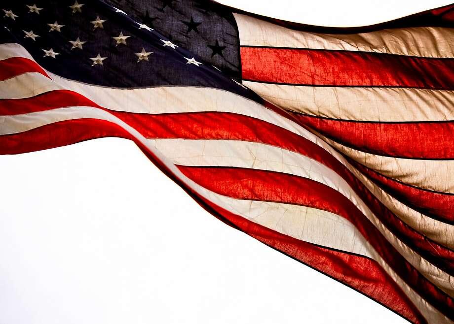 File photo taken in Cincinnati, Ohio, on Flag Day, June 14, 2012. Photo: Lisa Sullivan, Betty Photography, Getty Images