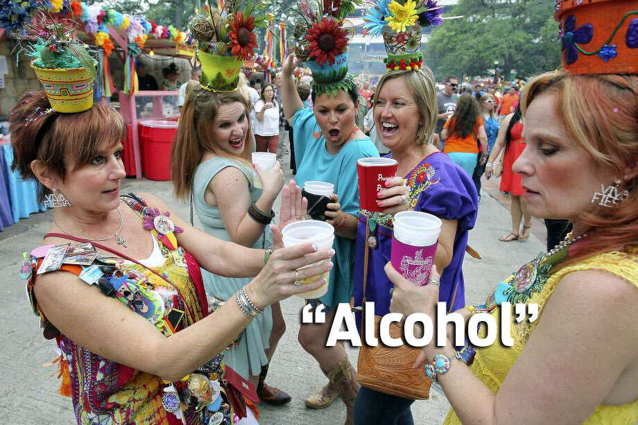 "Click ahead to view what San Antonians are giving up for Lent.From Facebook: ""Alcohol."" Photo: Getty Images / File Images"
