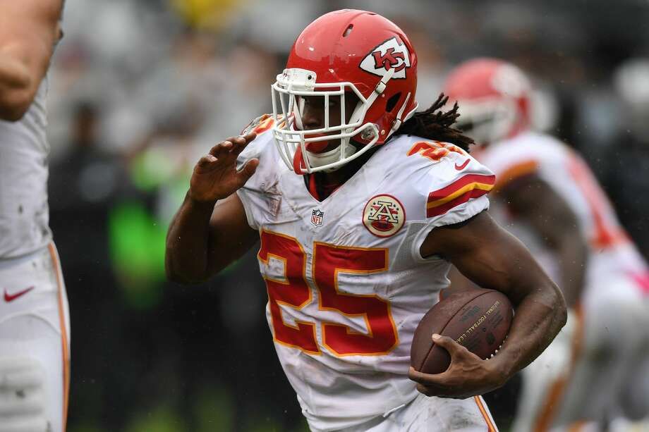 RB Jamaal Charles2016 team: Kansas City ChiefsAge: 302016 Stats: 12 rushing attempts for 40 yards and a touchdown, 2 receptions for 14 yardsNotes: The Chiefs released the franchise's all-time leading rusher with a failed physical designation after knee issues cost him 24 games in 2015 and 2016. Photo: Thearon W. Henderson/Getty Images