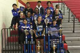 Pin Oak Middle School's Company and Crew dance team was named Grand Champion in the Champion Dance Northwest Houston Classic competition held at Cypress Woods High School on Saturday, Feb. 18. After a long day of competition, the team learned after midnight that they were also the top-scoring team, highest-scoring officer line and hip hop champions, scoring the highest points of the entire competition and beating out high school teams to win the hip hop award. Among many other team and officer awards, the team also received an Academic Excellence Award with an overall team GPA of 3.75. Crew Captain Anna Lillig also was named second runner up for her solo in the competition, and Company Officer Megan Gutierrez received third runner up for her solo. It was an amazing night of awards after a very long day of competition for the Pin Oak dance team. The team has one more competition this season coming up on March 4 in The Woodlands.