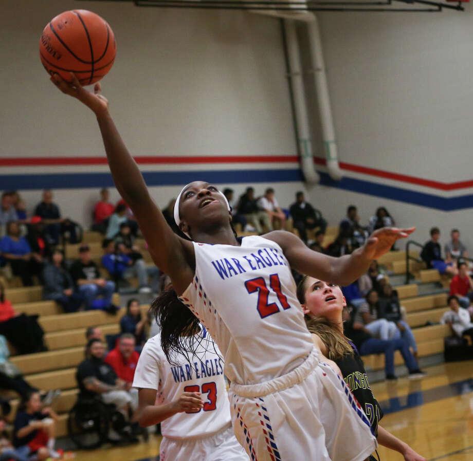 District 12-6A -  Co-Most Valuable Player - Alecia Whyte - Oak Ridge Photo: Michael Minasi/Houston Chronicle