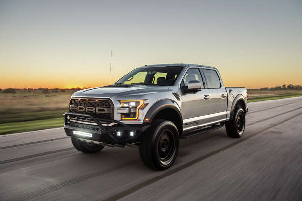 The new 2017 Hennessey Velociraptor Ford Raptor.
