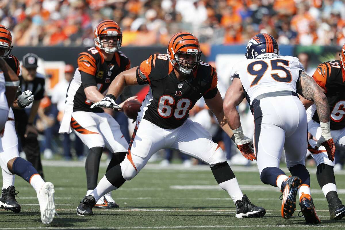 2. Kevin Zeitler G, Cincinnati: Zeitler is the best offensive lineman available and as absurd as it may sound, he could command $11 million a year. The 49ers allowed the second highest percentage of pressures on dropbacks (42.4%) and much of it came from the interior.