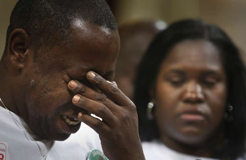 Jamiel Shaw, Sr. , whose son, a high school football player, was shot and killed by a person living in the country illegally in 2008 in California. Shaw spoke at many of Trump's campaign rallies and delivered a searing speech about his son at the Republican convention.