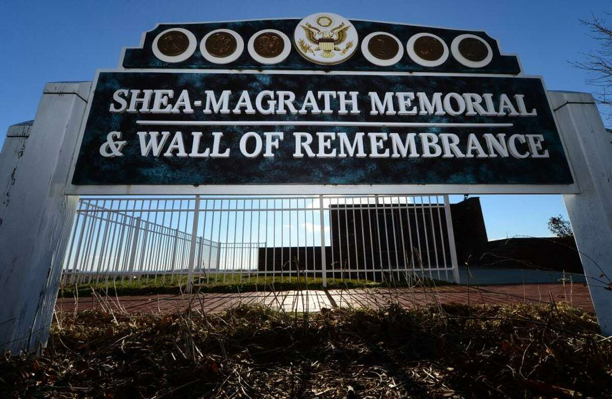 The Shea-Magrath Memorial at Calf Pasture Beach in Norwalk. The Shea-Magrath Memorial Restoration Committee is asking for donations to restore the plaques on the Shea-Magrath Memorial at Calf Pasture Beach. The names on the bronze plaques are 117 Norwalk veterans who were killed in action from World War II to the present. The cost will be approximately $45,000 to restore the plaques.