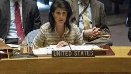 """There are signs that President Trump doesn't know what he's doing. After Trump made it seem the U.S. was abandoning a two-state solution, Ambassador to the United Nations Nikki Haley said that """"we absolutely support a two-state solution"""" to the Israeli-Palestinian conflict. Other contradictions abound."""