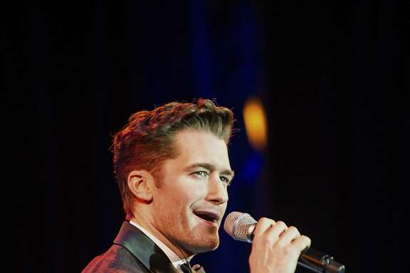 Emmy, Tony and Golden Globe-nominated Matthew Morrison perform at the Wheeler Opera House in Aspen, Colo., Tuesday, Feb. 14, 2017. (Anna Stonehouse/The Aspen Times via AP)
