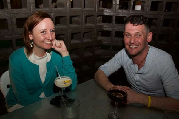 Ali Carpenter and Brett Abbott are at Chisme, a trendy new spot on the St. Mary's Strip.