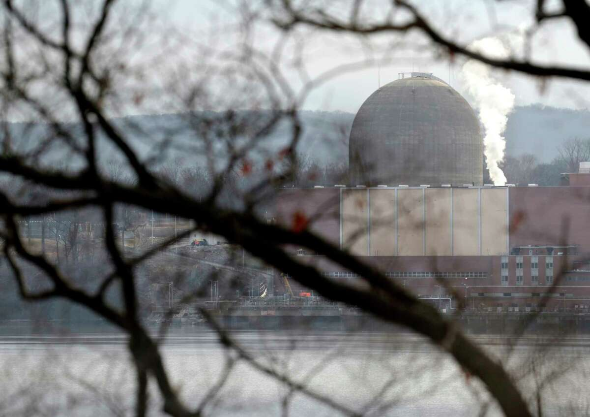 FILE. Letter writer says, 'Perhaps eliminating nuclear power is more important to AGREE than meeting state climate goals or shuttering gas power plants.' (AP Photo/Seth Wenig)