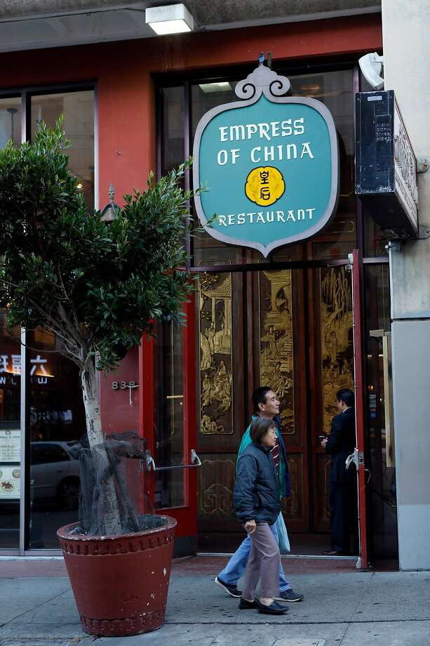 Empress of China restaurant on Grant Avenue in San Francisco, Calif. on Monday, September 29, 2014. Photo: Scott Strazzante, The Chronicle