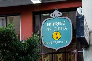 Empress of China restaurant on Grant Avenue in San Francisco, Calif. on Monday, September 29, 2014.