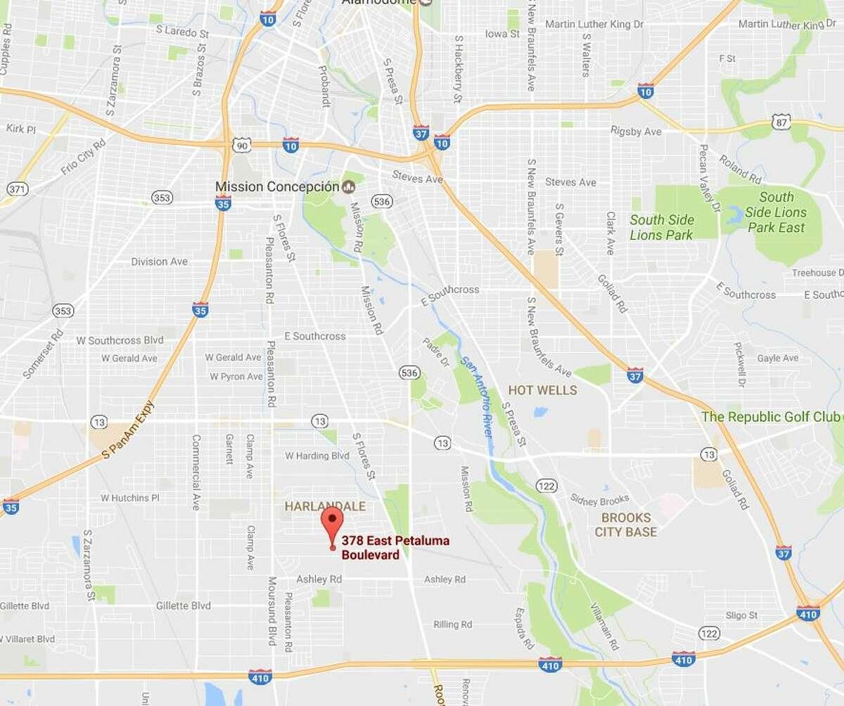 Two men were shot or pistol-whipped Feb. 28, 2017, in the 300 block of Petaluma Boulevard.