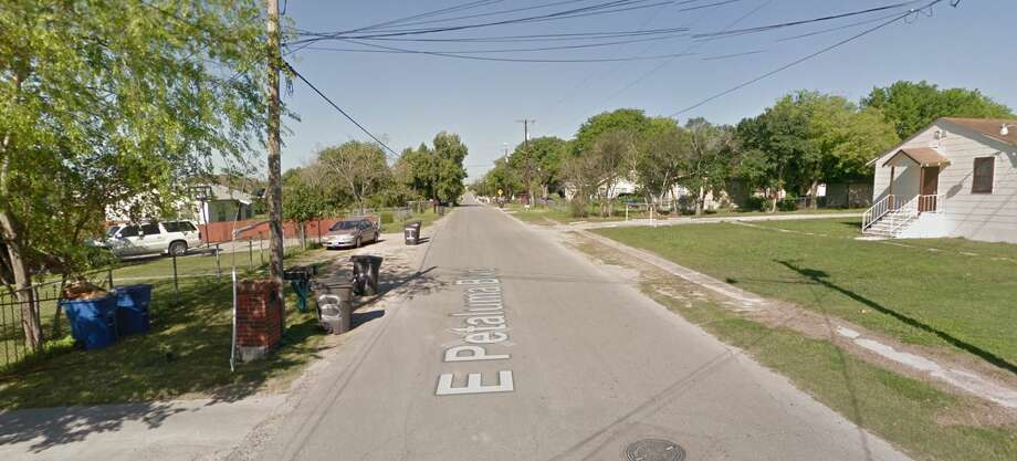 Two men were shot or pistol-whipped Feb. 28, 2017, in the 300 block of Petaluma Boulevard. Photo: Google