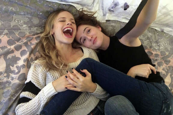 """(Left to right) Halston Sage and Zoey Deutch in a scene from the movie """"Before I Fall"""" directed by Ry Russo-Young. (Open Road Films/TNS)"""