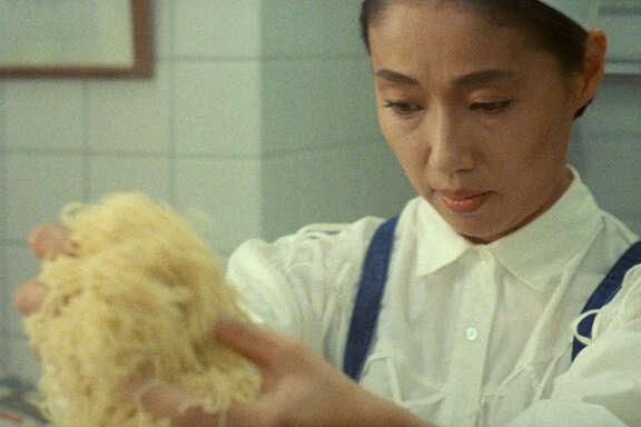 """Nobuko Miyamoto stars in """"Tampopo"""" (1985)."""