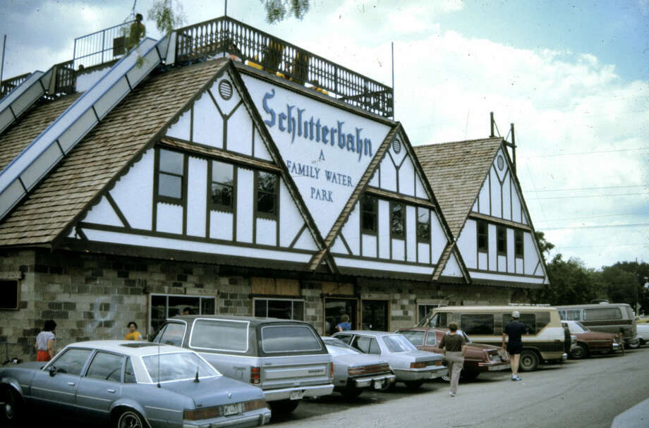 Click through the gallery to see vintage photos of Schlitterbahn New Braunfels