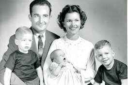 Schlitterbahn founders Bob and Billye Henry with their three children: Gary, Jana and Jeff.