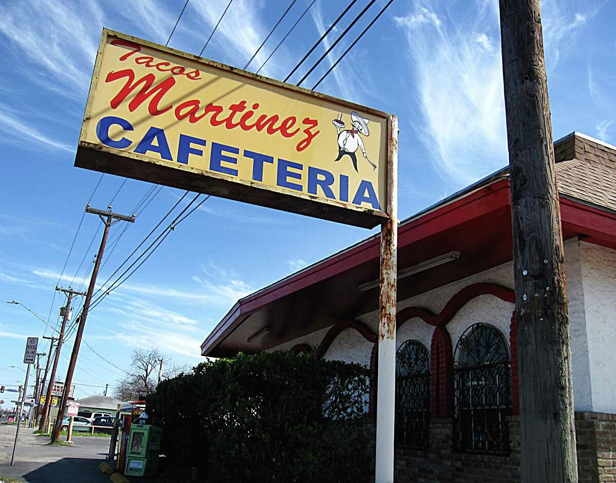 Tacos Martinez on West Commerce Street.