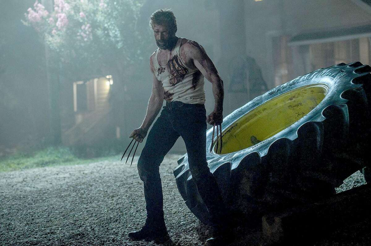 Hugh Jackman as Logan-Wolverine in
