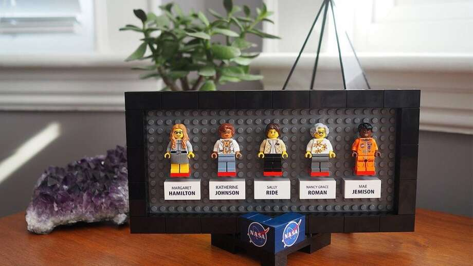The women behind the NASA space program have made the big screen, and now they are being honored as little Lego figurines. Click the gallery for amazing Lego art! Photo: Lego