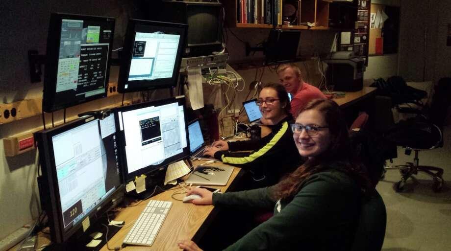 Students traveled to Kitt Peak National Observatory with Professor John Moustakas, Ph.D. Photo: Siena College