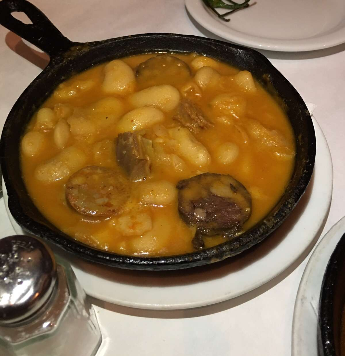 Large with beans with sausage and ham ($9.25)