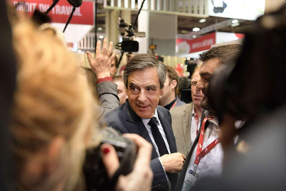 Francois Fillon faces charges of getting his wife and children taxpayer-funded jobs in which they allegedly did no work. Photo: CHRISTOPHE ARCHAMBAULT, AFP/Getty Images