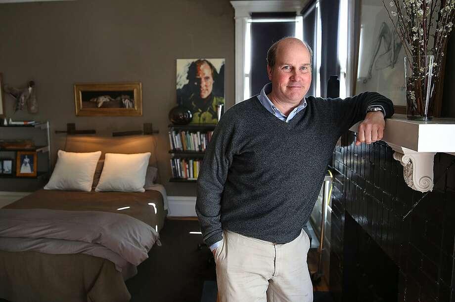 Robert Long in his S.F. home. Photo: Liz Hafalia, The Chronicle