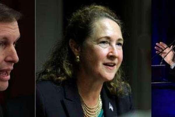 Sen. Chris Murphy, U.S. Rep. Elizabeth Esty, Sen. Richard Blumenthal