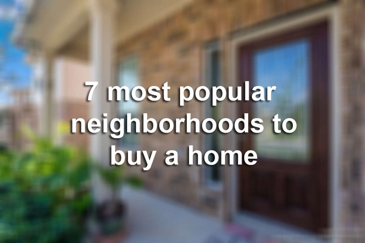 Click ahead to see the 7 most popular neighborhoods to buy a home, according to Keller Williams of San Antonio.