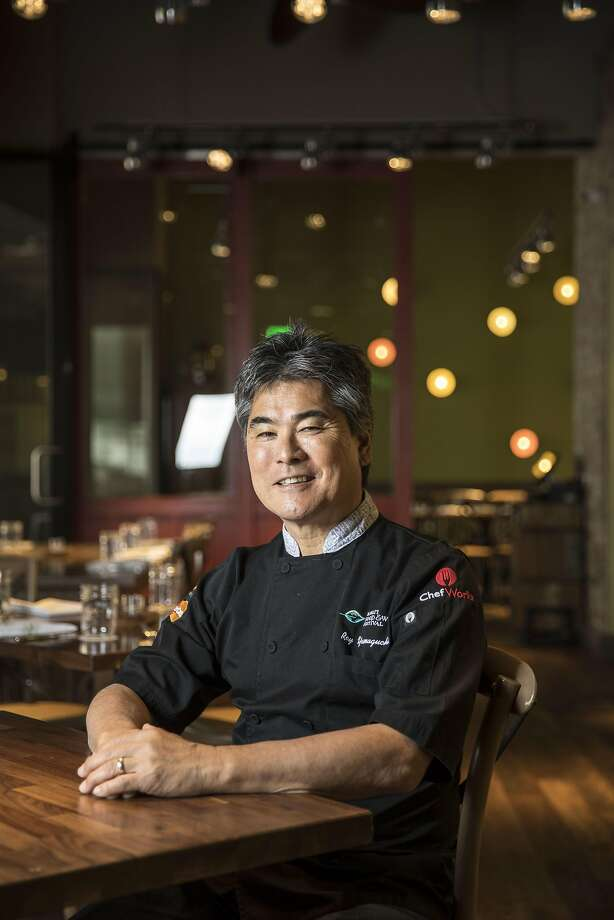 Yamaguchi at the Honolulu branch of Eating House 1849. Photo: Kent Nishimura, Special To The Chronicle