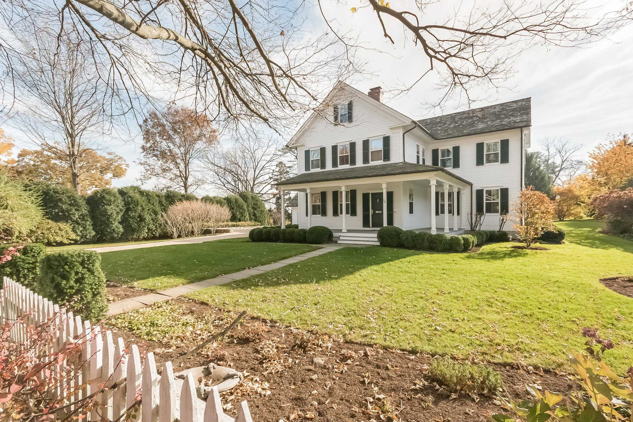 the Market A modern colonial farmhouse in Southport NewsTimes