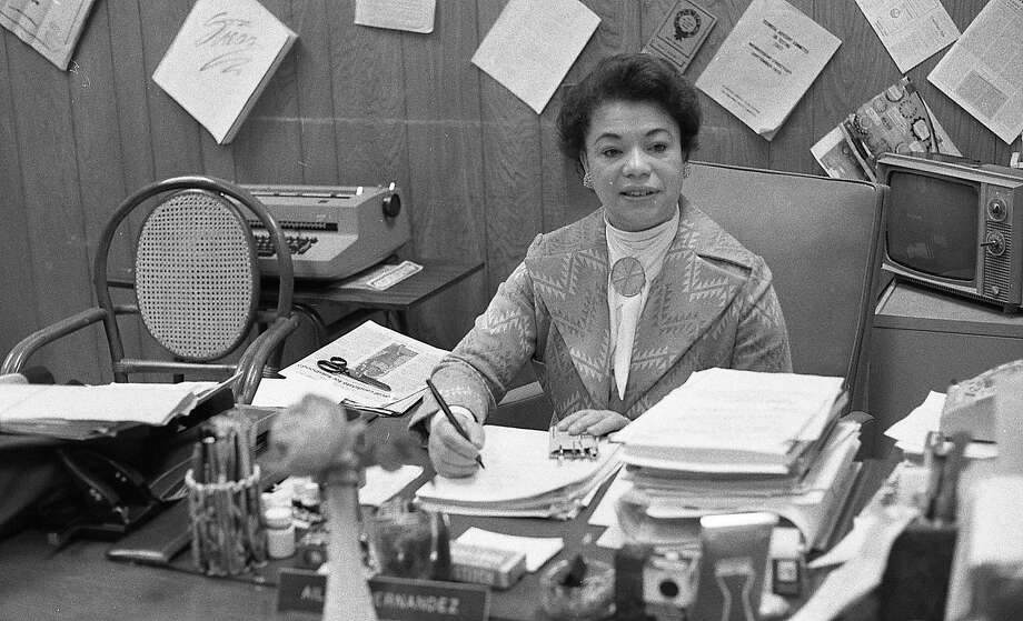 Aileen Clarke Hernandez advocated for the rights of women and people of color, and was the second national president of the National Organization for Women. Photo: Bill Young, The Chronicle
