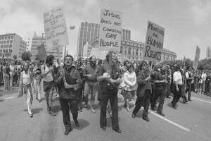The 1977 Anita Bryant protest galvanized the Houston gay and lesbian community.