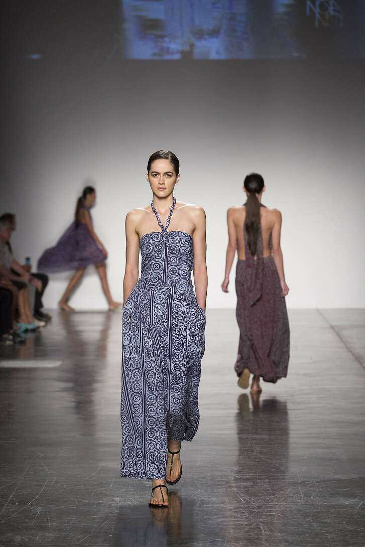 Joan Smoyer�s Noa Noa collections for women and men appeared in the �Live Aloha��island designers showcase that kicked off the 2016 Honolulu Fashion Week.