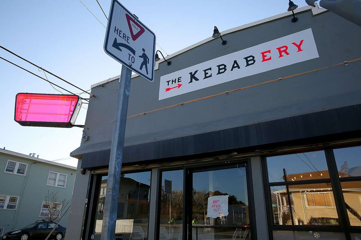 Outside view of the Kebabery on Tuesday, February 28, 2017, in Oakland, Calif.