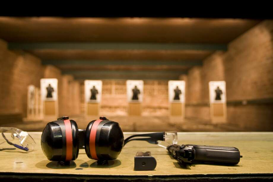 PHOTOS: Top-rated gun ranges in Texas These days gun ranges are big business, complete with dozens of lanes, specially-equipped air-filtration systems, and electronic training systems for those looking to go beyond just knocking off a few rounds into a paper target.Click through to see the best places to shoot in Texas...  Photo: BostjanT/Getty Images