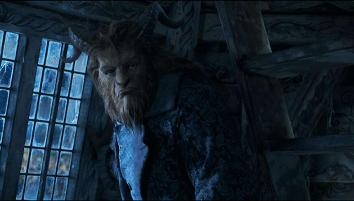 """Dan Stevens as the Beast in """"Beauty and the Beast"""" (2017). Photo: Courtesy of Walt Disney Pictures"""