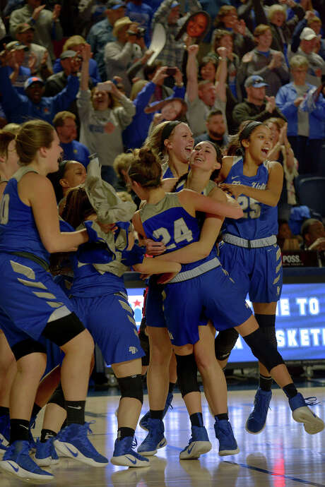 The Barbers Hill girls and their fans have had plenty to celebrate in recent years. Photo: Jerry Baker, Freelance / Freelance