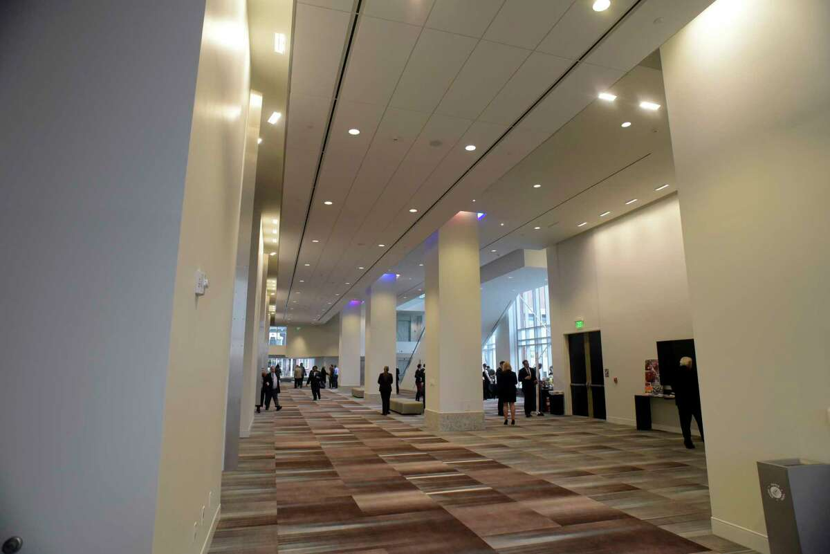 A view inside the new Capital Center on Wednesday, March 1, 2017, in Albany, N.Y. Officials held a ribbon cutting event on Wednesday at the center. (Paul Buckowski / Times Union)