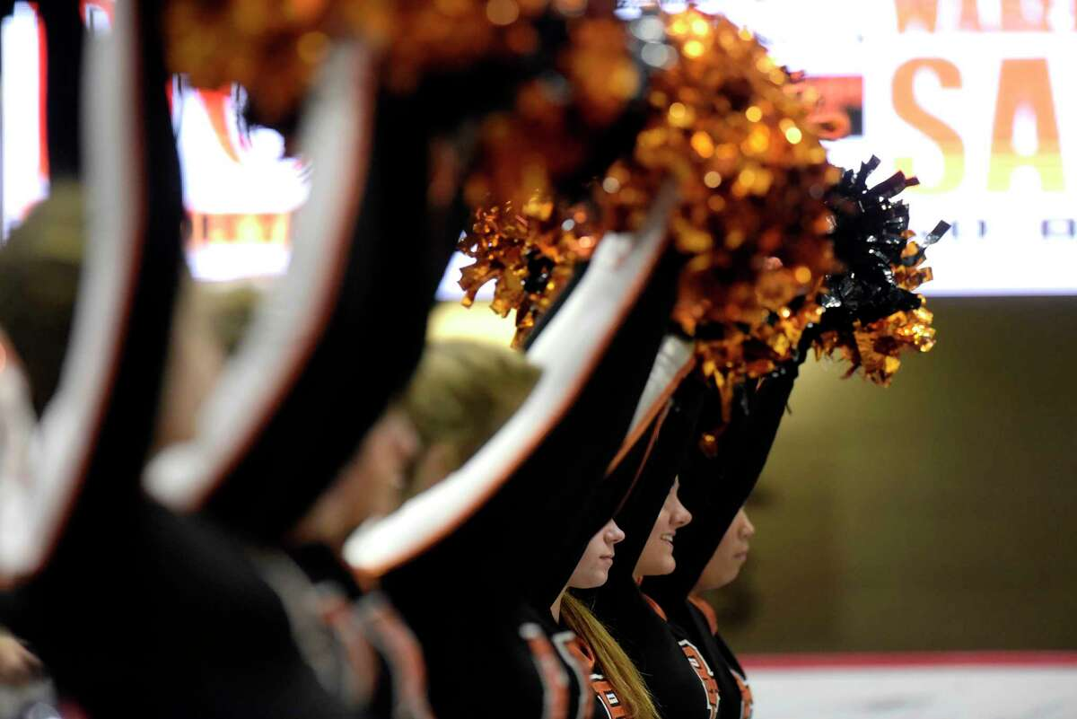 FILE. Letter writer says, ' Competitive cheerleading was put on an indefinite hold just as basketball, hockey and wrestling were this winter season. Yet, most coverage has little to no mention of competitive cheerleading.' (Paul Buckowski / Times Union)