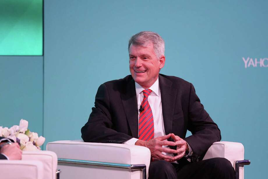 NEW YORK, NY - FEBRUARY 08:  CEO, president Wells Fargo & Co. Tim Sloan speaks on stage at the Yahoo Finance All Markets Summit on February 8, 2017 in New York City.  (Photo by Rob Kim/Getty Images for Yahoo Finance) Photo: Rob Kim, Stringer / 2017 Getty Images
