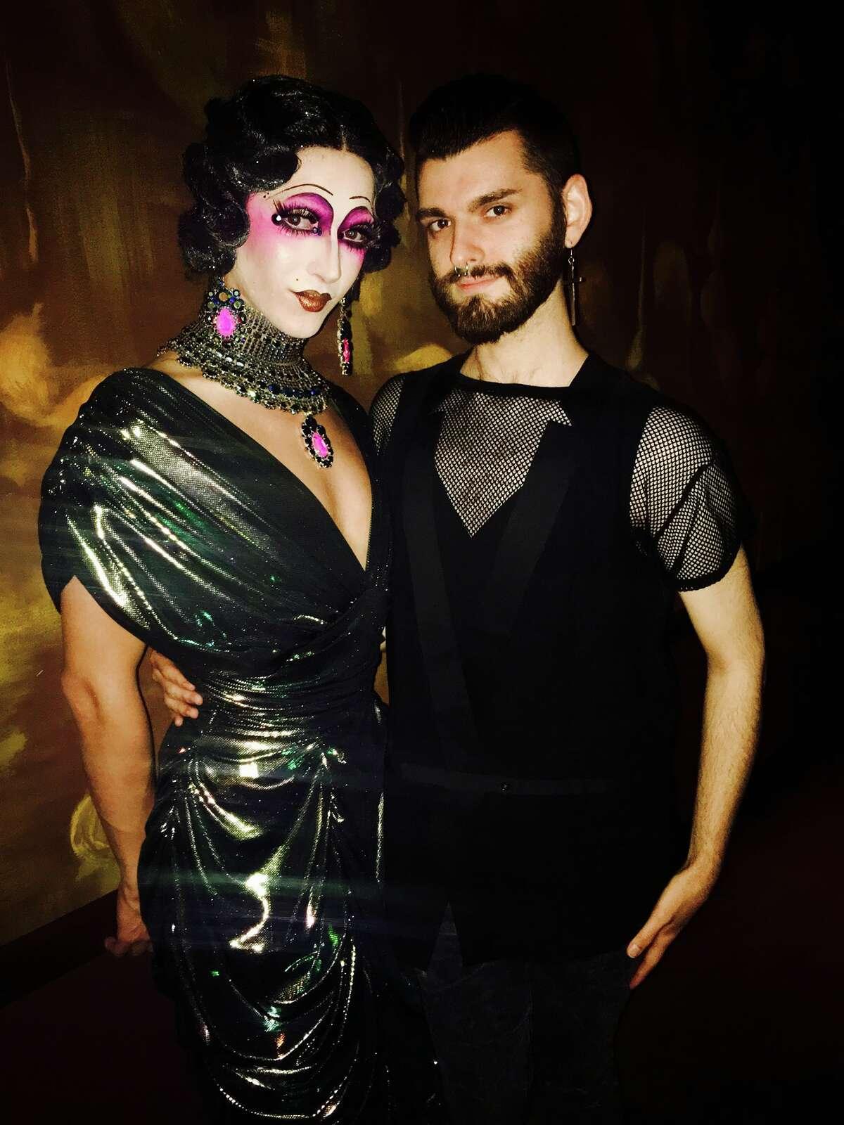 Violet Chachki and Houston fanWadé.